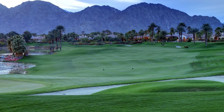 La Quinta Home for Sale with Golf Course Views
