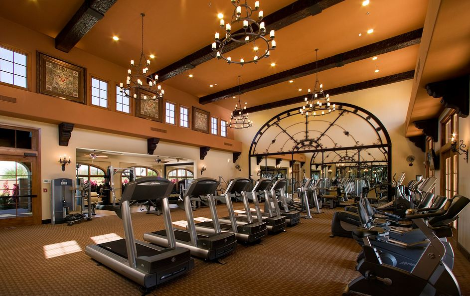 fitness center at Andalusia